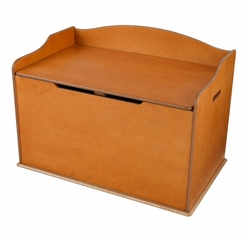 Austin Toy Box in Honey - KidKraft Furniture - 14954