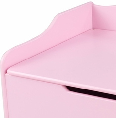 Austin Toy Box in Pink - KidKraft Furniture - 14957