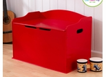 Austin Toy Box in Red - KidKraft Furniture - 14961
