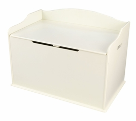 Austin Toy Box in Vanilla - KidKraft Furniture - 14958