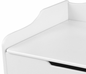 Austin Toy Box in White - KidKraft Furniture - 14951