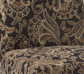 "Autumn Tone Paisley Tapestry ""Slip Over"" for Counter Stool or Bar Stool - Powell Furniture - 742-251Z"
