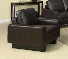 Ava Contemporary Leather Chair - 504483