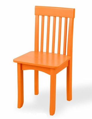 Avalon Chair in Pumpkin - KidKraft Furniture - 16651