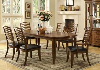 Avery Dining Table Set with 2 Arm Chairs and 4 Side Chairs - 103541
