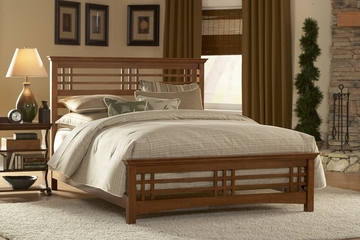 Avery King Size Bed with Rails - Fashion Bed Group - B51A96