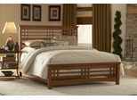 Avery Queen Size Bed with Rails - Fashion Bed Group - B51A95
