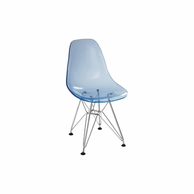 Baby Spire Chair in Transparent - Zuo