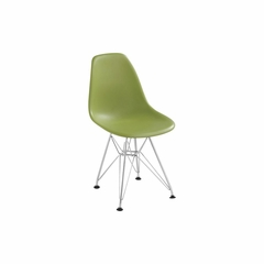 Baby Spire Chair with Chrome Base - Zuo