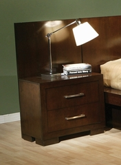 Back Panel - Jessica Night Stand Back Panel (Set of 2) in Light Cappuccino - Coaster - 200710