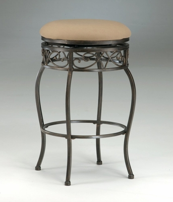 Backless Bar Stool - Lincoln Swivel Bar Stool - 4336-831