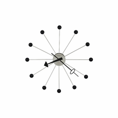 "Ball Clock II 42"" Oversized Wall Clock - Howard Miller"