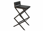 Bally Barstool in Brown - Bellini Modern Living - BALLY-DC-BRN