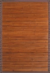 Bamboo Rug - 5' x 8' - Contemporary Chocolate - AMB0031-0058