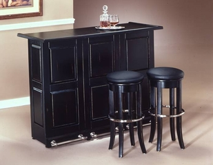 Bar and Stools Set