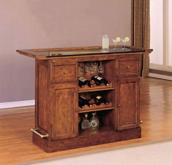 "Bar - Brandon ""Warm Cherry"" - Powell Furniture - 429-473"