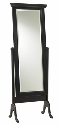 Bar Harbour Cheval Mirror - Cooper Classics - 8090