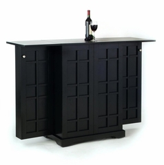 Bar - Steamer Trunk Bar in Ebony - 5691-99