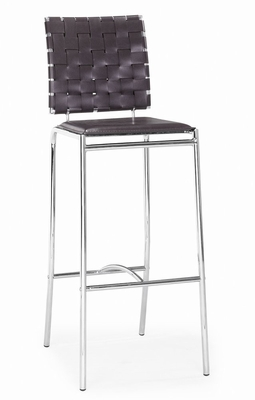 Bar Stool - Criss Cross Barstool (Set of 2) - Zuo Modern - 333070