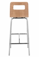 Bar Stool - Escape Barstool (Set of 2) - Zuo Modern - 301233