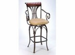 Bar Stool - Fairfield Bar Stool with Memory Swivel - Hillsdale Furniture - 4706-831