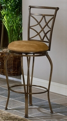 Bar Stool - Glendale All Metal Bar Stool with Double Leg - Hillsdale Furniture - 4603-831