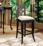 "Bar Stool - Hills Of Provence ""Antique Black over Terra Cotta"" - Powell Furniture - 896-432"