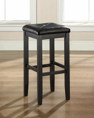 Bar Stool in Black - CROSLEY-CF500529-BK
