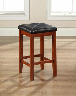 Bar Stool in Vintage Mahogany - CROSLEY-CF500524-MA