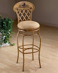 Bar Stool - Rooster Swivel Bar Stool - 41345