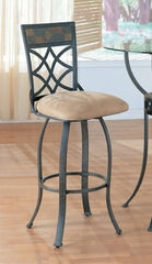 Bar Stool (Set of 2) in Antique Black - Coaster