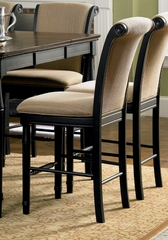 Bar Stool (Set of 2) in Rich Cappuccino - Coaster