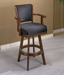 Bar Stool - Swivel Cherry Bar Stool - Hillsdale Furniture - 62646A