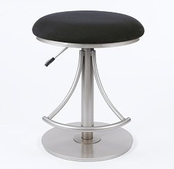 Bar Stool - Venus Backless Swivel Bar Stool - Hillsdale Furniture - 4209-824