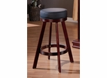 Bar Stool with Cushion Seat in Cherry - Coaster