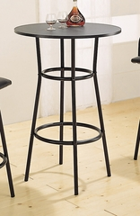 Bar Table in Black - Coaster