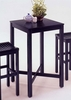 Bar Table With Veneer Top in Black - 5982-35