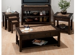 Barkley Dark Elm 4PC Occasional Table Set - 991-1
