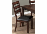 Baroque Brown Slat Back Side Chair - Set of 2 - 697-923KD