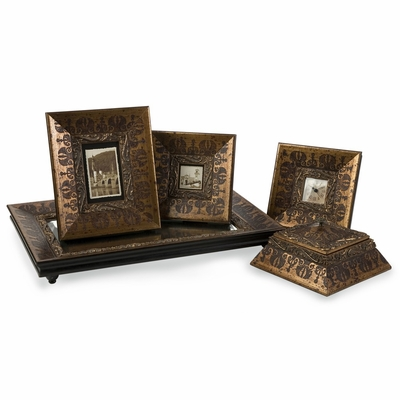 Baroque Inspired Framed Collection (Set of 5) - IMAX - 21090-5