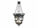Baroque Inverted Hanging Fixture - Dale Tiffany