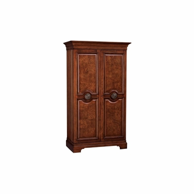 Barossa Wine and Bar Cabinet - Hampton Cherry Finish - Howard Miller
