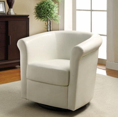 Barrel Back Swivel Accent Chair - 902087