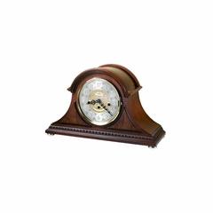 Barrett Tambour Key Wound Mantel Clock - Howard Miller