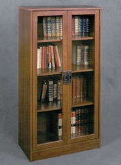 Barrister Bookcase with Glass Door - Ameriwood Industries - 34825