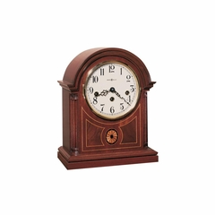 Barrister Mantel Clock in Mahogany - Howard Miller