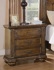 Bartole Light Oak Nightstand - 202222