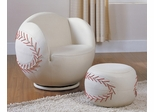 Baseball Chair and Ottoman Set - All Star - 05528
