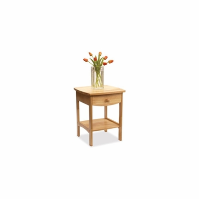 Basics Natural Night Stand - Winsome Trading - 82218