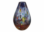 Basil Art Glass Vase - Dale Tiffany